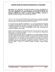 CR du CM du 17 mai 2020