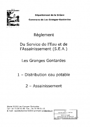 Règlement S.E.A
